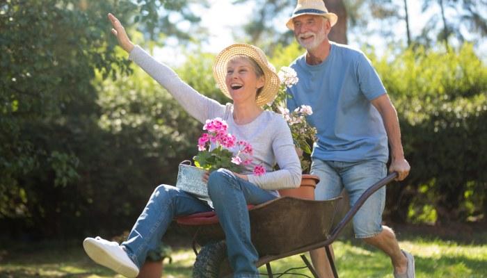 gardening against stress